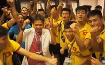 Clip U-19 VN vui mừng đoạt vé dựWorld CupU-20