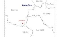 Lại động đất 2,9 độ Richter ở Phước Sơn