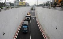 Thông xe hầm chui ngã tư Vũng Tàu, dân phản ứng cách phân luồng
