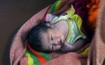 Một bé gái sơ sinh bị bỏ rơi trong vườn cao su