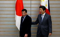 Tổng thống Duterte trấn an Nhật về chuyến thăm Trung Quốc