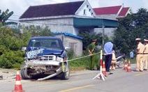 Chủ tịch xã lái ôtô tông chết 2 thiếu niên