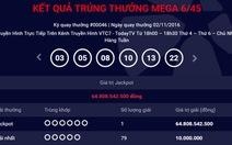 Người từ Đồng Nai trúng số hơn 64 tỉ đồng nhận thưởng