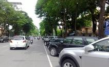 Thí điểm đỗ xe trên đường theo ngày chẵn - lẻ