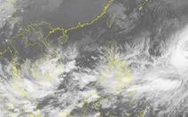Áp thấp nhiệt đới hướng vào bờ biển Bình Thuận - Vũng Tàu