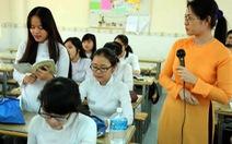 TP.HCM: HS lớp 12 đăng ký môn kiểm tra học kỳ 1