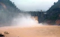Hồ Kẻ Gỗ, thủy điện Hố Hô thông báo tăng xả nước