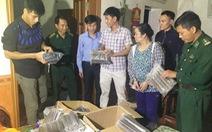 Bắt một phụ nữ buôn bán gần 300 kg thuốc nổ