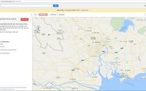 Google bỏ công cụ hiệu chỉnh bản đồ Map Maker