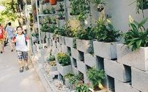 Xây dựng hơn 100 vườn hoa từ điểm tập kết rác