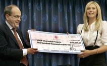 Điểm tin sáng 11-11:Sharapova được phục hồi vai trò Đại sứ thiện chí
