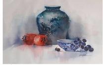 106 bức tranh màu nước của triển lãm Đồng chất
