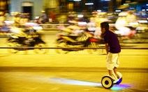 Nguy hiểm trò chơi xe điện cân bằng, ván trượt