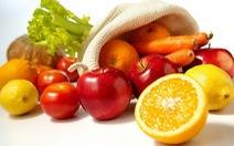 Ăn nhiều hoa quả và rau củ sẽ giúp con người vui vẻ hơn