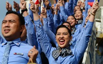 329 đại biểu tàu Đông Nam Á cười tươi khi đến TP.HCM