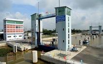 Khánh thành âu tàu đầu tiên ở Việt Nam
