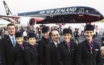 Dịch vụ hãng hàng không New Zealand tốt nhất thế giới