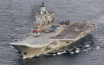 Tàu sân bay duy nhất của Nga tham gia không kích Syria