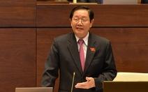 Đại biểu chất vấn lại Bộ trưởng Nội vụ về vụ Trịnh Xuân Thanh