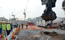 Khởi công xây dựng tuyến metro ngầm và ga Bến Thành