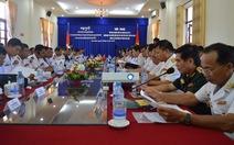 Hải quân Việt Nam, Campuchia phối hợp tốt tuần tra chung trên biển