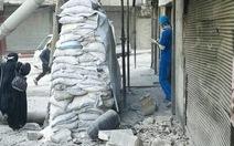 Quân đội Syria không kích trúng bệnh viện ở Aleppo