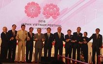 Khai mạc lễ hộiNhật - Việt