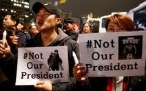 Đảng đối lập Hàn Quốc tính chuyện luận tội Tổng thống