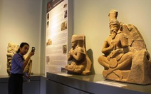 Đến Huế xem 28 cổ vật điêu khắc Champa