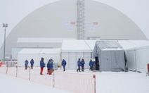 'Quan tài' để chôn nhà máy điện hạt nhân Chernobyl như thế nào?