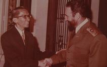 Bay cùng chuyên cơ Fidel Castro