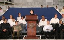 Chủ tịch Quốc hội phát biểu tại Lễ tưởng niệm Lãnh tụ Fidel Castro