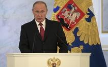 Thông điệp liên bang của ông Putin: Nga định đoạt vận mệnh mình