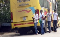 Giang hồ lộng hành trên xe buýt: công an gặp nạn nhân