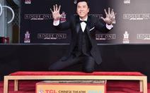 Chân Tử Đan lưu dấu tay ở kinh đô điện ảnh Hollywood