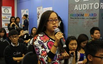 Đại sứ Hoa Kỳ thảo luận với thanh niên Việt Nam