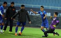 Vũ Minh Tuấn tập trung đội tuyển trở lại