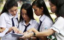 Thi THPT quốc gia 2017:Thí sinh được thi cả hai môn tự chọn