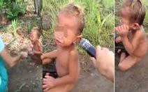 Công an An Giang điều tra nghi can trong clip hành hạ trẻ em