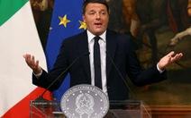 Thủ tướng Ý Matteo Renzi chính thức từ chức