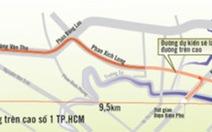 15.000 tỉđồng xây đường trên cao số 1, TP.HCM