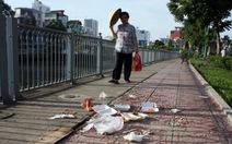 Vứt rác trên vỉa hè bị phạt từ 3-5 triệu