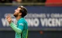 Messi và Suarez lập công, Barca thắng dễ Osasuna