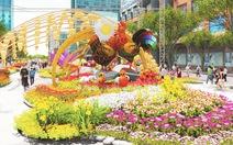 Đường hoa Tết Đinh Dậu 2017 tại TP.HCM đẹp thế nào?