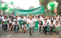 """Hơn 10.000 người tham gia """"Cuộc chạy vì trẻ em Hà Nội 2016"""""""