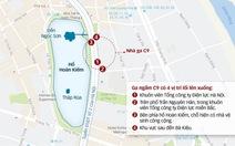 Nghiên cứu thêm cửa lên xuống ga ngầm hồ Hoàn Kiếm