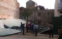 Nhà 3 tầng trung tâm TP Móng Cái bất ngờ đổ sập