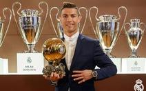 Ronaldo đoạt Quả bóng vàng 2016
