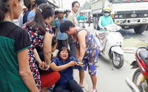 Học sinh lớp 8 bị xe ben cán chết thảm trên đường đi thi