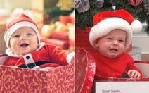 Bật cười với ảnh chế bé cưng mùa Noel